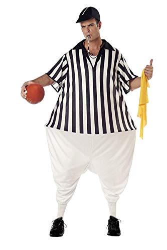 California Costumes Disfraz de rbitro de ftbol Americano para Hombre