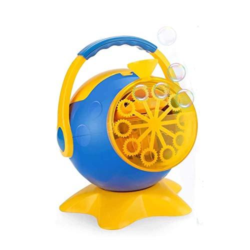Bdesign Bubble Maker automático Forma Juguete Pulpo eléctrico Ventilador de la Burbuja, Comes, una excelente opción for Juegos al Aire Libre for niños