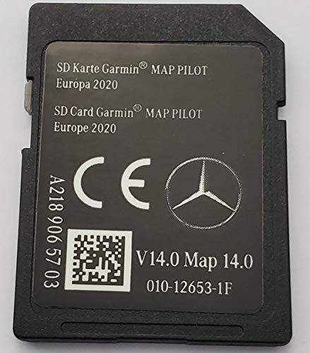 SD Karte GPS Mercedes Garmin MAP Pilot Europe 2020 - STAR1 - v14 - A2189065703