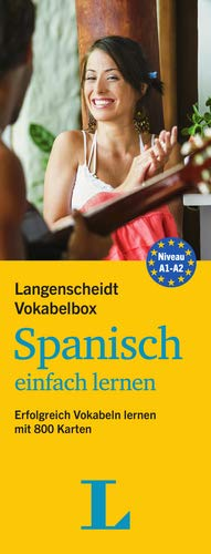 Langenscheidt Vokabelbox Spanisch einfach lernen - Box mit Karteikarten: Erfolgreich Vokabeln lernen mit 800 Karten (Langenscheidt Vokabelbox einfach lernen)