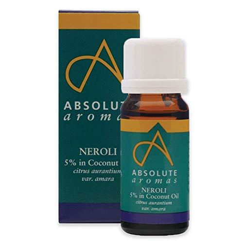 Absolute arômes Néroli 5% d'huile essentielle en lumière de noix de coco