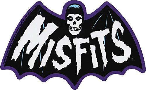 Square Deal Recordings & Supplies - The Misfits - Bat Fiend Logo - Die Cut Sticker