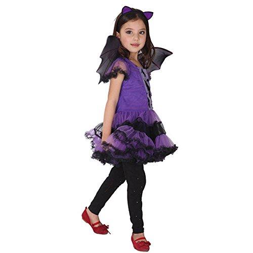 - Kid Bat Kostüm Make Up