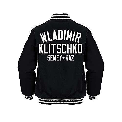 Sporting Empire Wladimir Klitschko Boxing Legend Jacket Black/White Gr. Small, Schwarz