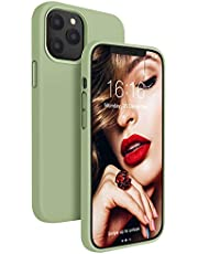 JASBON Case for iPhone 12 Case, iPhone 12 Pro Case, Silicone Shockproof Phone Case Gel Rubber Drop Protection 6.1 inch Cover for iPhone 12/iPhone 12 Pro 2020