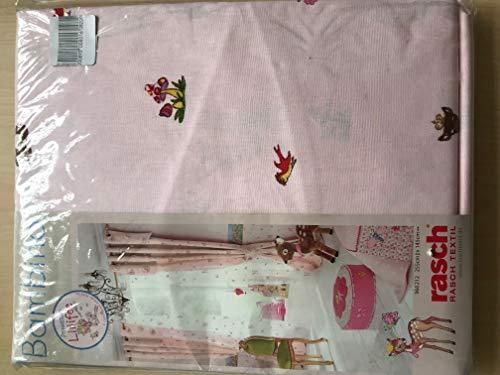 Rasch Schlaufenvorhang Vorhang Gardine 255x 145 cm rosa Prinzessin Lillifee REH Spiegelburg 966212