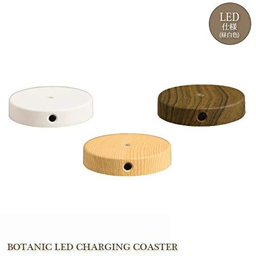 コースター ボタニック LED チャージングコースター BOTANIC LED CHARGING COASTER AOL-614 コースター テーブルライト 照明 ライトアップ ホワイト