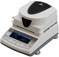 Torbal BTS110 Moisture Analyzer, 0.1% Readability, 160C, 110g x 0.01g , Backlit Graphical LCD Display, USB Interface, Compact Design, 4 Drying Modes