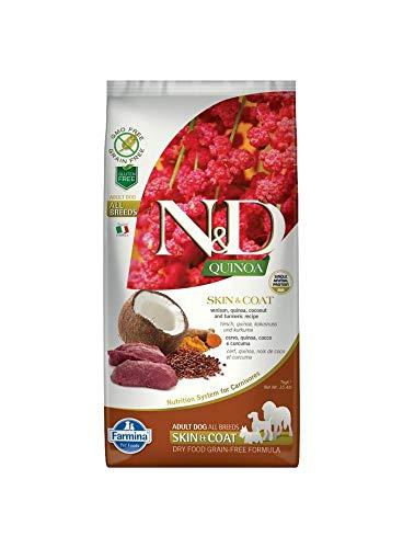 N&D Quinoa Skin & Coat Venison Grain Free - 7 Kg