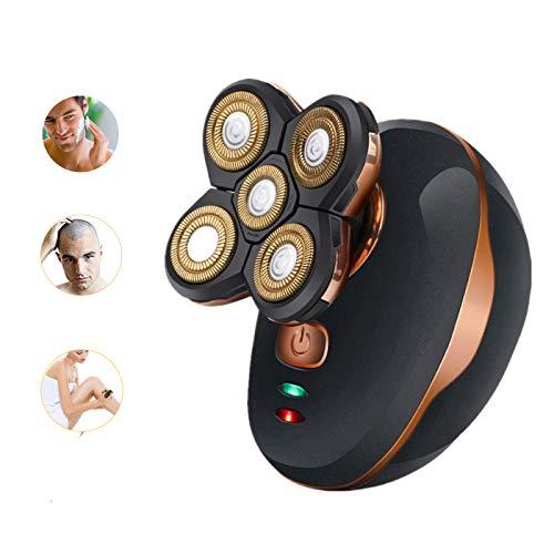 small Dee Banna 5D Wet Dry Electric Rotary Shaver Waterproof 5 Head Swim Beard Razor For Men…