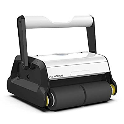 PAXCESS Automatic Pool Cleaner, Robotic In-Ground/Above Ground Pool Cleaner with Wall Climbing Function, Large Filter Basket and Tangle-Free Cord Up to 50 Feet (Renewed)