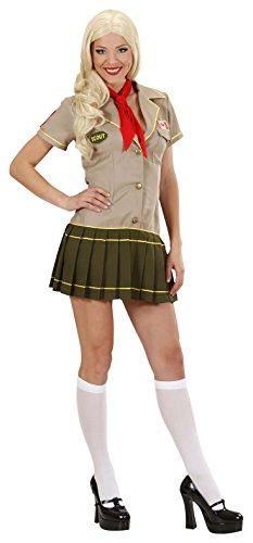 WIDMANN 2068?Scout Girl, rojo/negro, talla XL