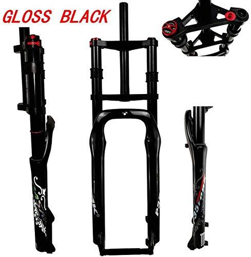HUANGB ophanging mountainbike fiets MTB vork aluminium legering speciaal voor schijfremmen ondersteuning schijf schouder controle