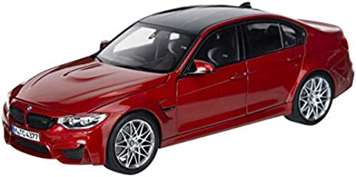 Original BMW M3 (F80) Miniatur Modellauto Ma ab 1 18 Orange Metallic