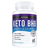 Nutriana Keto Diet Pills for Women and Men - Keto Supplements Bhb for Ketosis - Bhb Salts Exogenous Ketones - 30 Day Supply by Nutriana