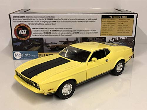 Model Car Eleanor Mustang 1973 1/18 27cm Gone 60 Seconds Original Greenlight Collectibles DieCast Custom Movie Star