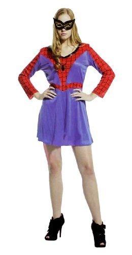 『スパイダー レディース スパイダーウーマン ハロウィン クリスマス コスプレ フリーサイズ スパイダーガール』の1枚目の画像