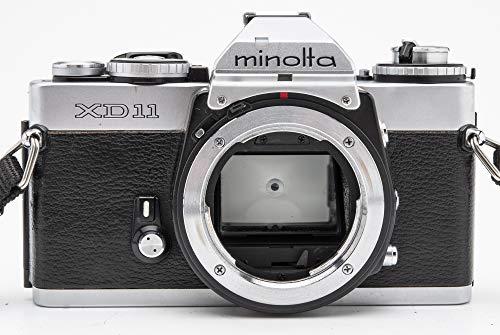 Minolta XD 11 SLR Kamera Body analoge Spiegelreflexkamera Silber
