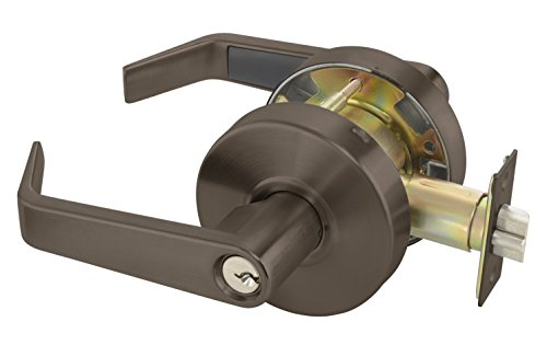 Yale AU4605LNX1806X613E Lock, Dark Satin Bronze Finish (485311)