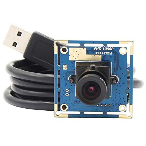 ELP 1080P Webcam mit 3,6mm objektiv Full HD MJPEG 30fps/60fps/100fps USB Kamera Modul für Android,Mac,Windows USBFHD01M-L36