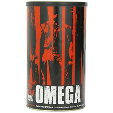 Universal Nutrition Animal Omega 3 6 Fish Oil, Essential Fatty Acid Complete Supplement, 30 Packets