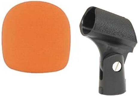 Microphone Essential Pack - San Jose Mall Includes Animer and price revision Mic Orange Windscree Clip