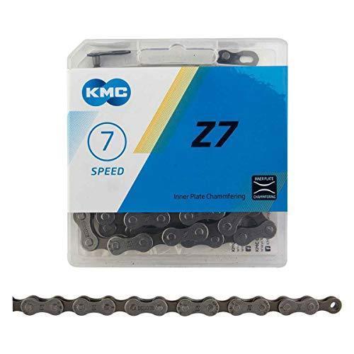 KMC, Z7, Chain, Speed: 6/7/8, 7.3mm, Links: 116, Grey