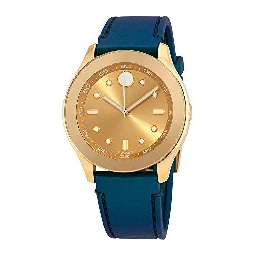 Movado Bold Gold-Tone Dial Ladies Watch 3600428