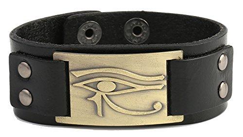 Dawapara Vintage Amuleto Egipcio de Ojo de Horus Metal Craft Conector