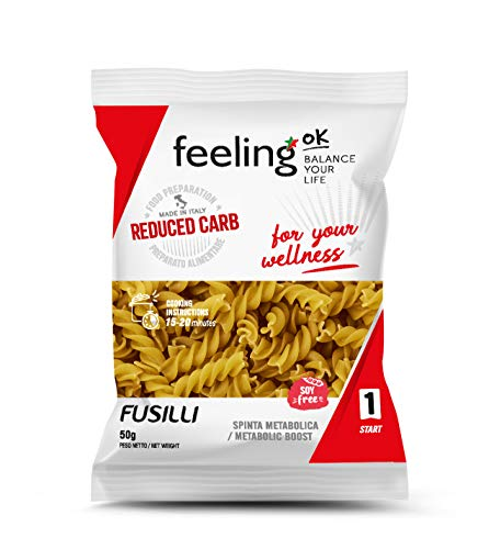 Fooditalia - FeelingOK Start - Protein Fusilli Nudeln - 50g