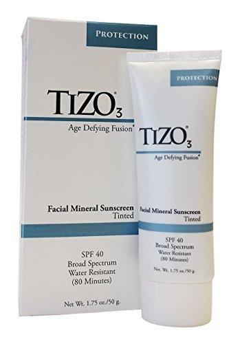 Tizo Facial Mineral Sunscreen SPF 40 Tinted, 1.75 oz by Tizo