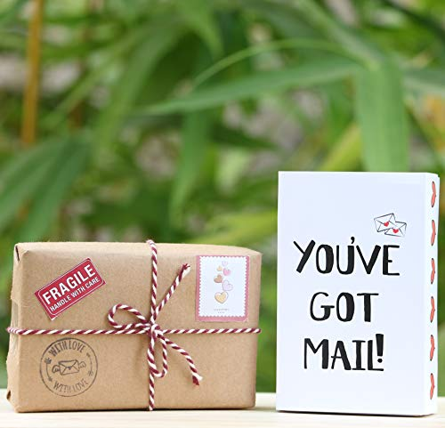 Oye Happy - You've Got Mail - Tiny Hamper for Girlfriend / Boyfriend / Husband / Wife/ Fiance to Gift on Birthday/Anniversary