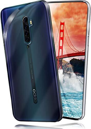 moex Aero Hülle kompatibel mit Oppo Reno2 Z - Hülle aus Silikon, komplett transparent, Klarsicht Handy Schutzhülle Ultra dünn, Handyhülle durchsichtig einfarbig, Klar