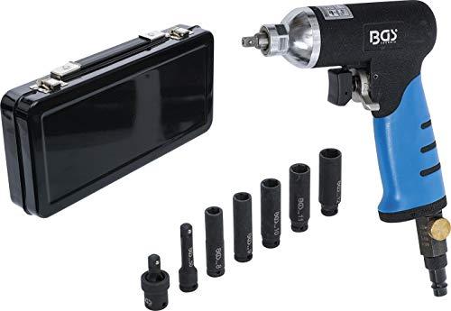 BGS 3320 | Druckluft-Schlagschrauber für Glühkerzen | Drehmoment-Einstellung möglich (Rechts- u Linkslauf) | handlich