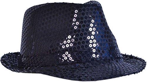 Sombrero negro para adulto unisex