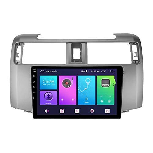 W-bgzsj Android 10.0 Coche estéreo, Radio para Toyota 4RUNNER 2014-2019 GPS Navegación de la Cabeza de 9 Pulgadas Player MP5 Multimedia Player Video Receptor Tracker con 4G WiFi DSP MirrorLink