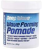 WaveBuilder Deep Wave Forming Pomade   Original Formula Builds, Creates, Holds, Defines Hair Waves, 3 Oz