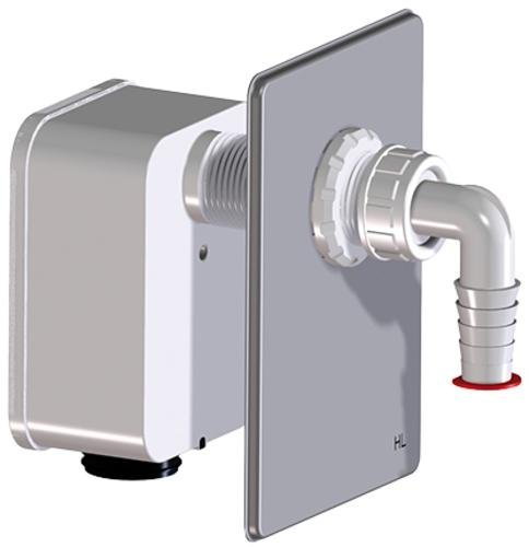 HL4000 Komplettierset mit Einzelanschluss passend zu Waschgeräte-UP-Sifon