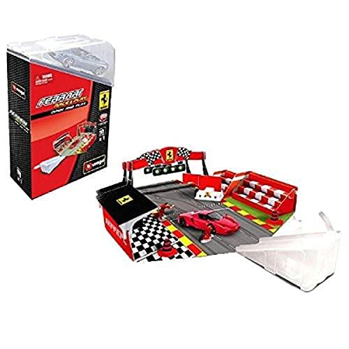 Burago - 0302027 - Véhicule Miniature - Modèle À L'échelle - Coffret Cadeau Ferrari - Echelle 1/43