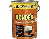 Bondex Holzlasur für Außen DunkelGrau 4,80 l - 424663
