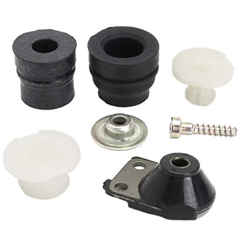 Zerama Ersatz für Stihl MS240 MS260 024 026 Puffer, Motorsäge-Ringpuffer, Puffer Kettensäge Ringförmige Puffer-Behälter Buffer Kit 1121 790 9901