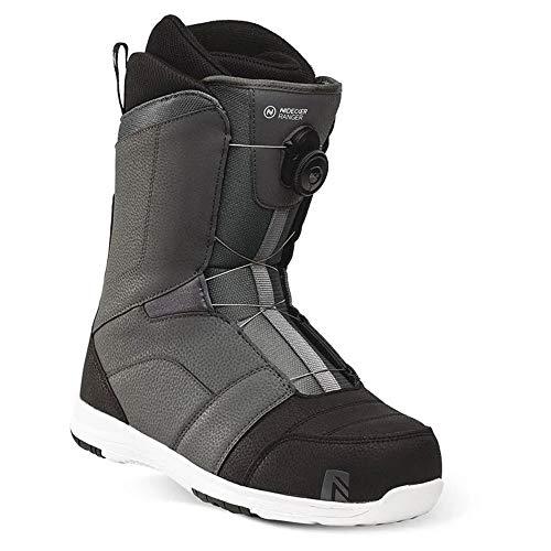 Nidecker - Boots De Snowboard Ranger Boa Homme Gris - Homme - Taille 42 - Gris