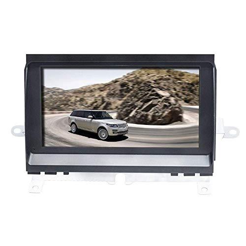 QIQIDIAN Android 10 Reproductor Multimedia para Coche Radio Estéreo Navegación GPS Unidad Principal Compatible con Land Rover Discovery 3 LR3 L319 2004-2009,2gbram