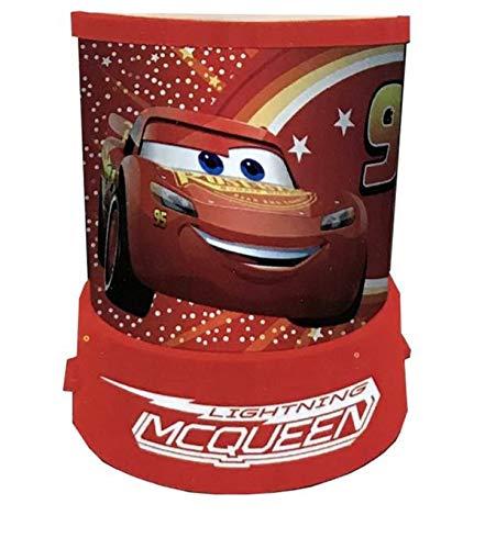 veilleuse projecteur d'étoiles avec les personnage Cars disney