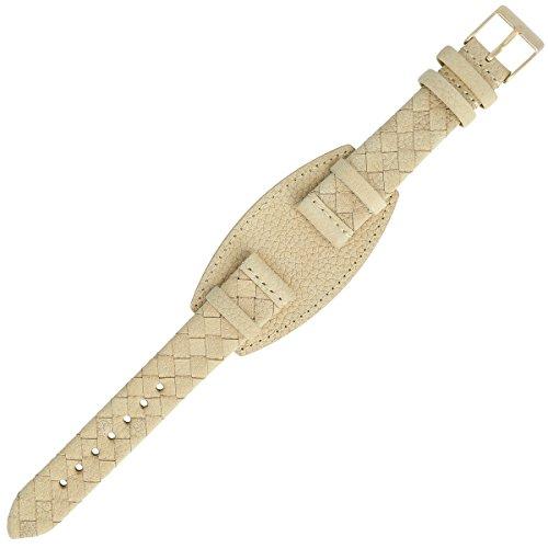 Liebeskind Uhrenarmband 17mm Leder Beige - Uhrband B_LT-0045-LQ