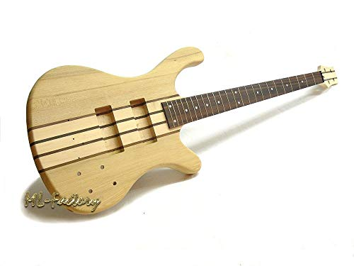 Bajo Eléctrico/Bass Guitar DIY Kit ML-Factory® ML Active Through Neck 4-String Ash