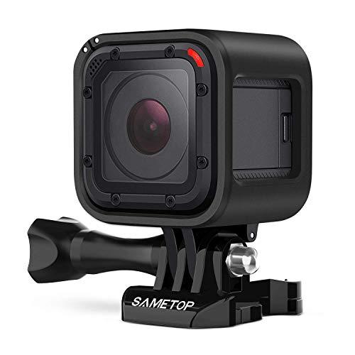 Sametop Carcasa de montaje en marco compatible con cámaras GoPro Hero 5 Session, Hero 4 Session, Hero Session
