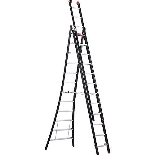 Altrex Escalera Nevada–Escalera multiusos (3piezas, 3x 12