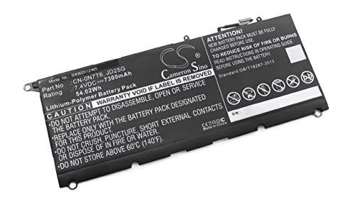 vhbw Battery compatible with Dell XPS 13-9350-D3608G, 13-9350-D3708, 13-9350-D3708G, 13-9350-D3808T Laptop (7300mAh, 7.4V, Li-Polymer)