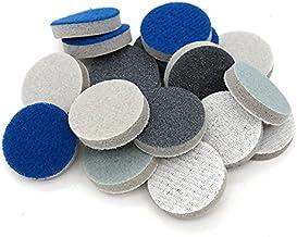 Van hoge kwaliteit 1 inch 25mm ronde spons schuurschuur schuurpapier haak en lus 300-3000 grits voor polijsten en;Slijpen...